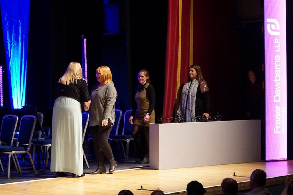 Four Legged Friend Award Winners, Julie Nichols and Dogotel