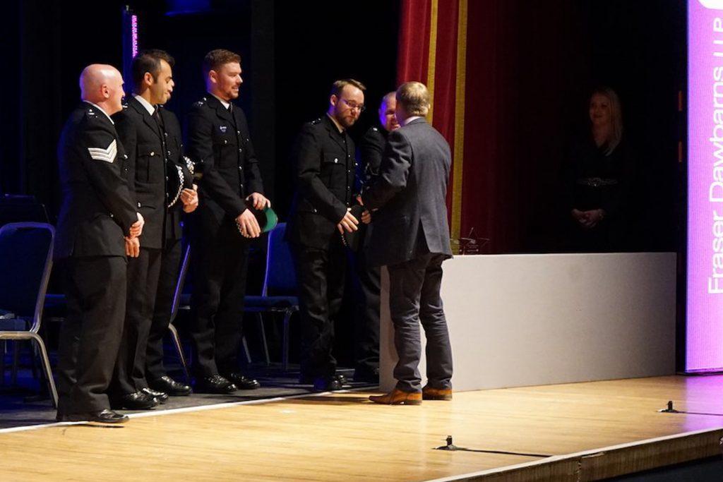 Uniformed Services Award Winners, Downham Market Police